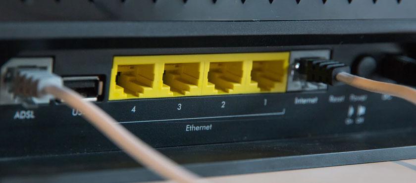 ports ethernet